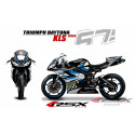 RSX kit déco racing TRIUMPH DAYTONA 675 KLS 06-12