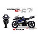 RSX kit déco racing TRIUMPH DAYTONA 675 KLS 06-12