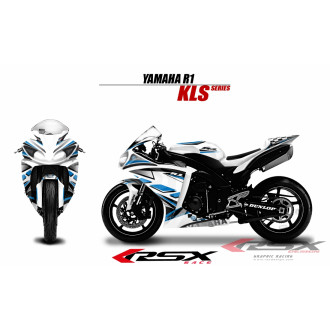 RSX kit déco racing YAMAHA R1 KLS 09-14