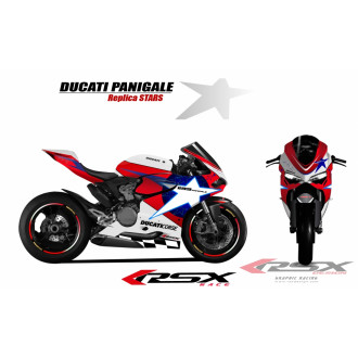 RSX kit déco racing DUCATI 1199 STARS