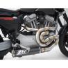 ZARD LIGNE INOX CARBONE RACING HARLEY DAVIDSON XR 1200 09-13