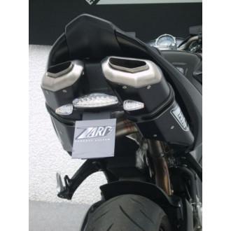 ZARD ECHAPPEMENTS ALUMINIUM BLACK 102 DB SUZUKI B-KING 07-