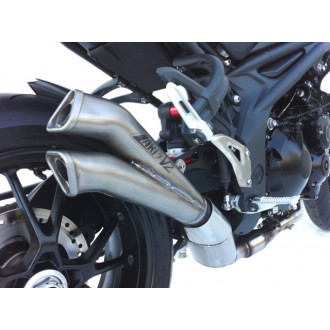 ZARD SILENCIEUX TITANE RACING MODELE V2 TRIUMPH 1050 SPEED TRIPLE 07-10