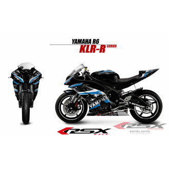 RSX kit déco racing YAMAHA R6 KLR-R 08-
