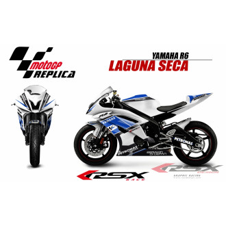 RSX kit déco racing YAMAHA R6 LAGUNA SECA 08-