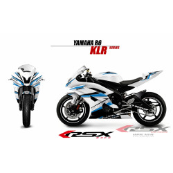 RSX kit déco racing YAMAHA R6 KLR 08-