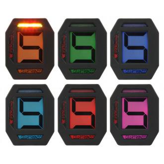 PZ RACING indicateur de rapport engagé UNIVERSEL + SHIFT-LIGHT GT400