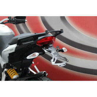 EVOTECH SUPPORT DE PLAQUE D'IMMATRICULATION TOP CASE DUCATI 1200 MULTISTRADA 10-