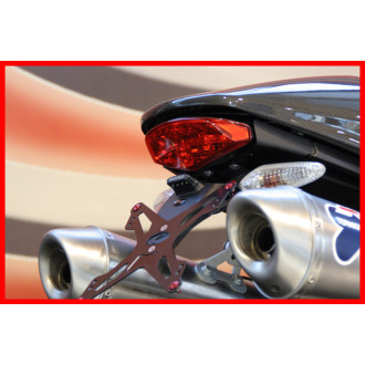 EVOTECH SUPPORT DE PLAQUE D'IMMATRICULATION DUCATI 696 MONSTER 07-