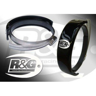 RG RACING protection de silencieux ROND SM ø100mm