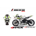 RSX kit déco racing HONDA CBR1000 PRACTICE 08-11