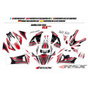 RSX kit déco racing HONDA CBR1000 KLR base blanc 08-11