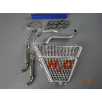 H2O performance Radiateur Racing DUCATI PANIGALE 1199 / 1299 12-15