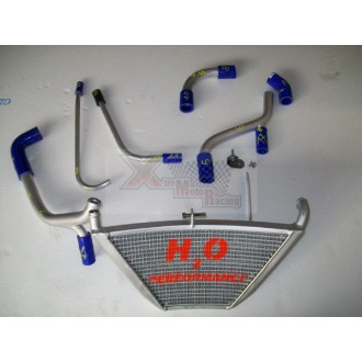 H2O performance Radiateur Racing KAXASAKI ZX 10 R 11-15
