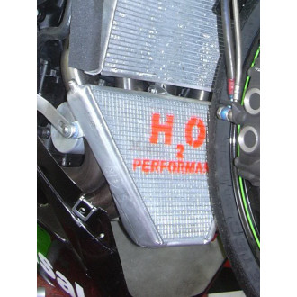 H2O performance Radiateur Racing KAXASAKI ZX 6 R 09-13