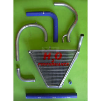 H2O performance Radiateur Racing KAXASAKI ZX 6 R 07-08