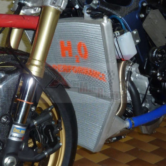 H2O performance Radiateur Racing SUZUKI GSXR 600 / 750 11-15