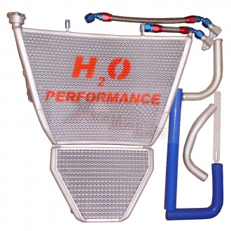 H2O performance Radiateur Racing SUZUKI GSXR 1000 09-15