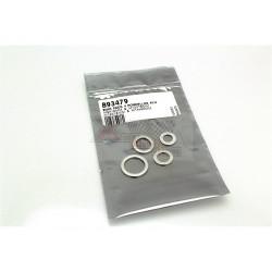 BIHR Pack 4 rondelles joints de vidange alu