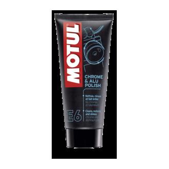MOTUL produit de nettoyage  CHROME & ALU POLISH tube 100ml