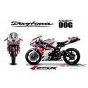 RSX kit déco racing TRIUMPH DAYTONA 675 DOG 06-12