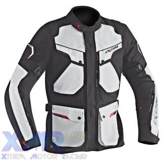 IXON CROSSTOUR HP veste textile H NOIR / GRIS
