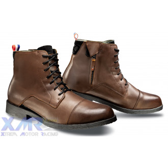 IXON GREENWICH bottines cuir H MARRON