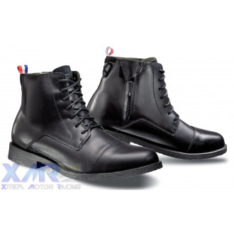 IXON GREENWICH bottines cuir H NOIR