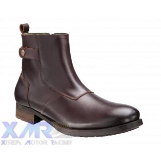 IXON HOXTON bottines cuir H MARRON