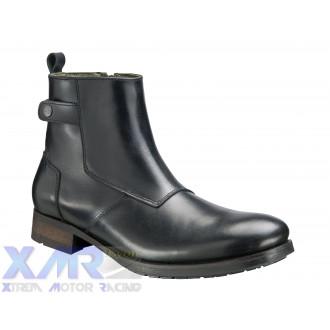 IXON HOXTON bottines cuir H NOIR