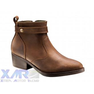 IXON HOXTON LADY bottines cuir F MARRON