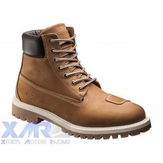IXON MUD bottines cuir/textile H MOKA