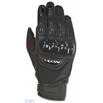 IXON RS RECON AIR gant ete cuir/textile H NOIR
