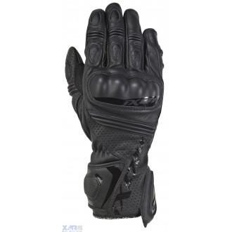 IXON RS TEMPO AIR gant ete cuir/textile H NOIR