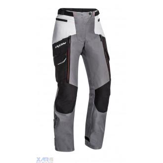 IXON SICILIA L PT pantalon textile F NOIR / GRIS / ROUGE