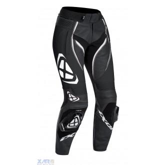 IXON VORTEX LADY PT pantalon cuir F NOIR / BLANC