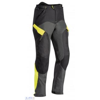 IXON CROSSTOUR 2 PT pantalon textile H NOIR / GRIS / JAUNE VIF
