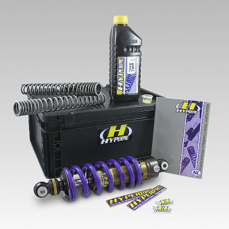 HYPERPRO kit ressorts fourche/ amortisseur arrière STREET BOX TRIUMPH