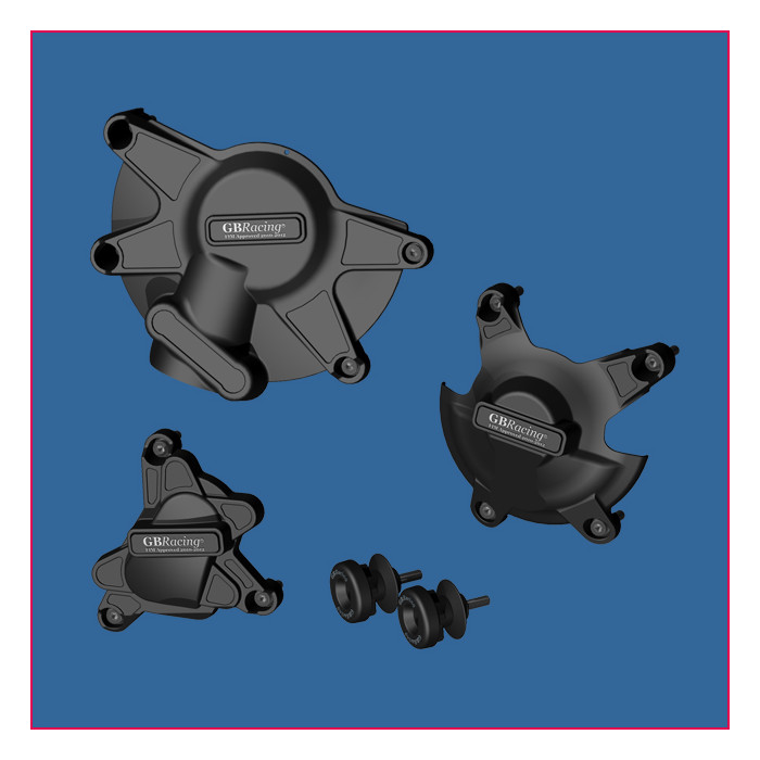 GB Racing PACK protection COMPLET YAMAHA YZF-R1 09-11 stock