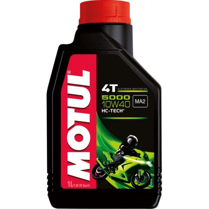 MOTUL huile moteur  HC TECH  5000 4T 10W40