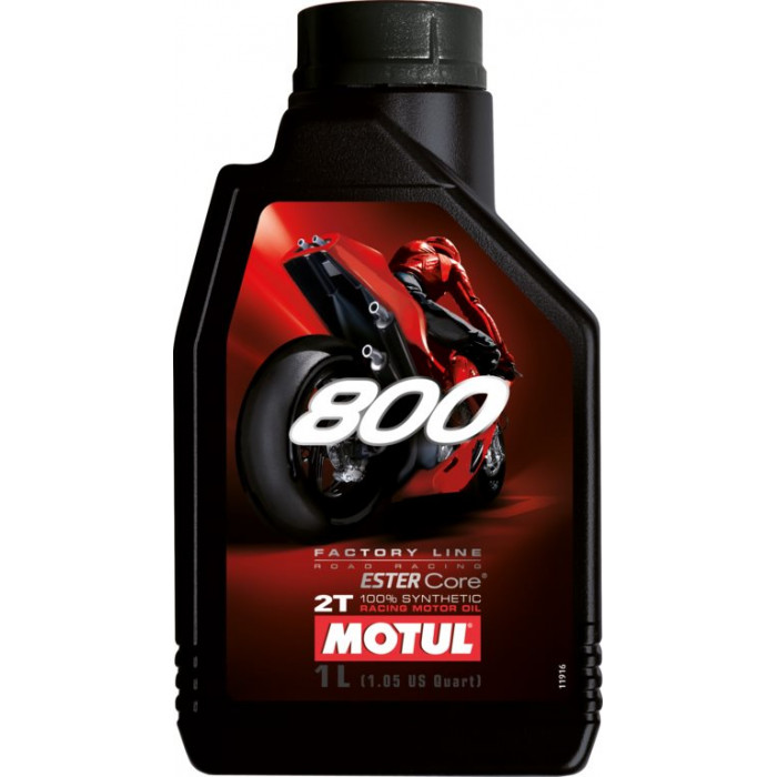 MOTUL huile moteur 100% SYNTHESE  800 2T Factory Line ROAD RACING  1L