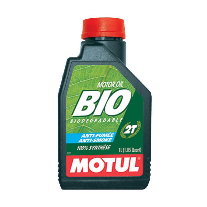 MOTUL huile moteur 100% SYNTHESE  bio 2T  1L