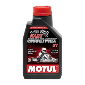 MOTUL huile moteur loisirs 100% SYNTHESE kart grand prix 2T 1L