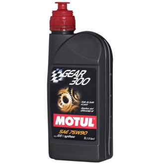 MOTUL huile transmission MECANIQUE  100% synthèse  GEAR 300  75W90