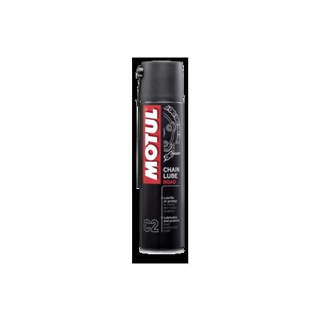 MOTUL produit d'entretien  CHAIN LUBE road  spray 400ml