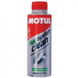 MOTUL produit d'entretien moteur  FUEL SYSTEM CLEAN MOTO  200ml