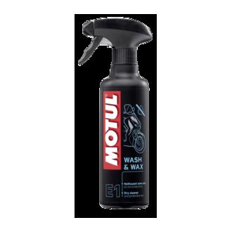 MOTUL produit de nettoyage  WASH & WAX spray 400ml