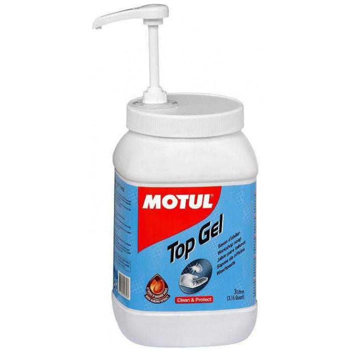 MOTUL produit de nettoyage  TOP GEL  3 litres