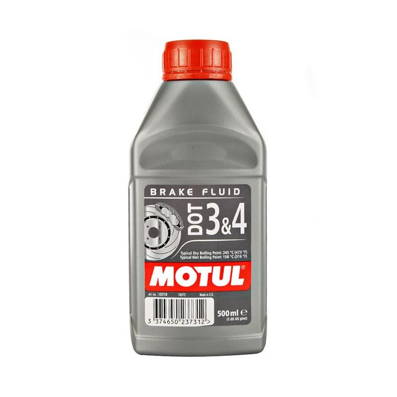 MOTUL liquide de frein  DOT 3 & 4 brake fluid