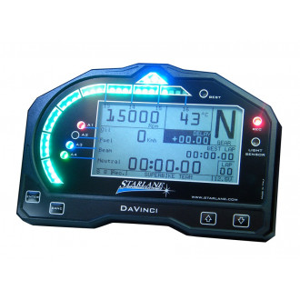 STARLANE ordinateur/ chronomètre embarqué DAVINCI SX pour RSV4